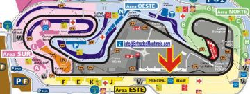 Situation VIP Loge Gold Suite GP Spanien F1
